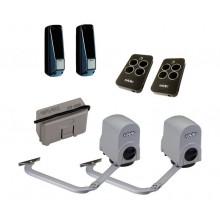 FAAC 391 KIT + Пульты RC комплект автоматики для распашных ворот рычажный до 300 кг