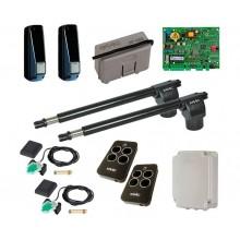 FAAC 414 KIT + Пульты RC комплект автоматики для распашных ворот линейный до 300 кг
