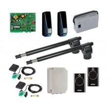 FAAC 414 KIT + Пульты SLH комплект автоматики для распашных ворот линейный до 300 кг