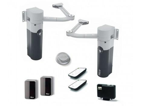 Nice WALKY2024BDKCE комплект автоматики для распашных ворот рычажный до 180 кг