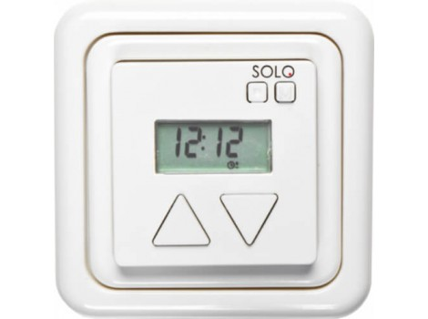 Solo 8252 50 электронный выключатель с функцией таймера