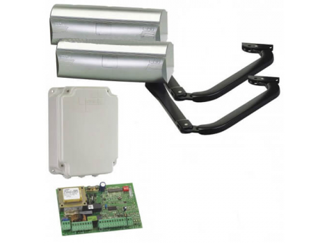 FAAC 390 KIT комплект автоматики для распашных ворот рычажный до 400 кг
